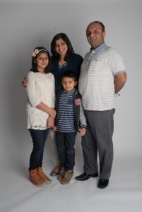 Mohammed Zar and family
